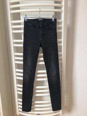 Karl Lagerfeld Jeans Hose Skinny Damen Pants denim black washed Gr:25 L32