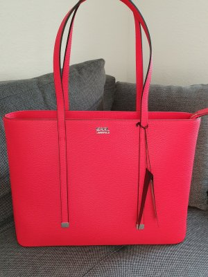 Karl Lagerfeld K/Stone Shopper rot Tasche Handtasche Schultertasche