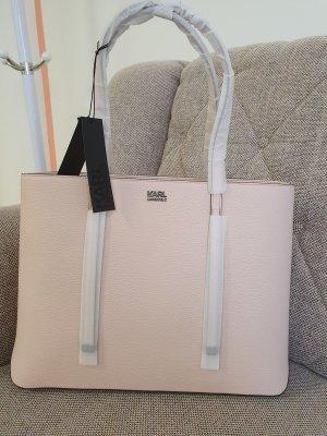 karl Lagerfeld k/stone shopper tasche rosa neu Handtasche schultertasche
