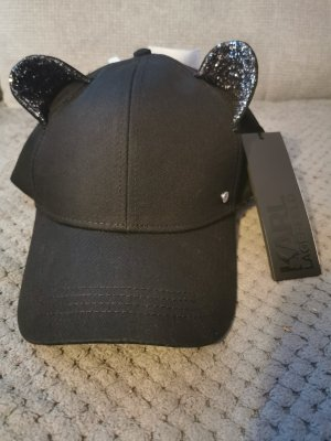 Karl Lagerfeld Baseball Cap black-silver-colored