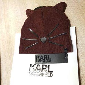 Karl Lagerfeld Czapka z dzianiny Wielokolorowy