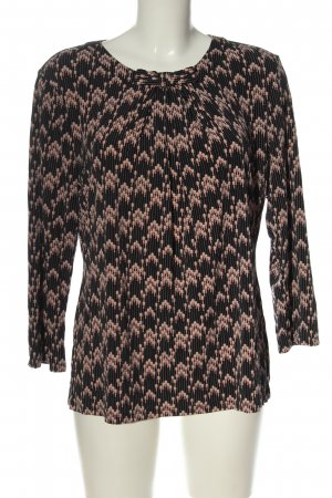 Karl Lagerfeld Long Sleeve Blouse allover print casual look
