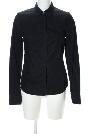 Karl Lagerfeld Camicia a maniche lunghe nero stile professionale
