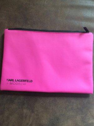Karl Lagerfeld Laptop/ Kosmetiktasche Pink