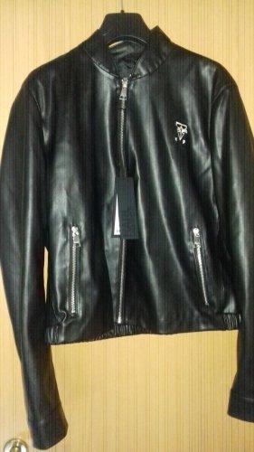 Karl Lagerfeld Leder Jacke Gr.40 neu mit Etikett NP 280 Euro