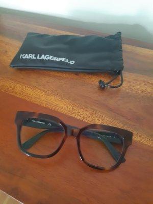 Karl Lagerfeld Okulary brązowy-ciemnoniebieski
