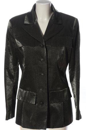 Karl Lagerfeld Long-Blazer silberfarben Elegant