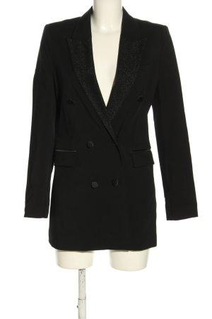 """Karl Lagerfeld Lange blazer """"karl lagerfeld x kaia collection"""" zwart"""