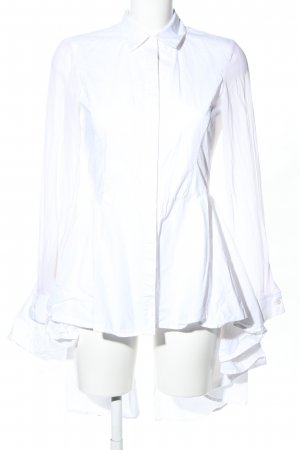 Karl Lagerfeld Blouse longue blanc style d'affaires