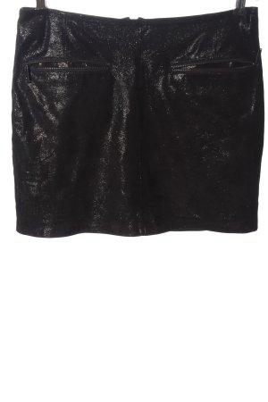 Karl Lagerfeld Miniskirt black flecked casual look