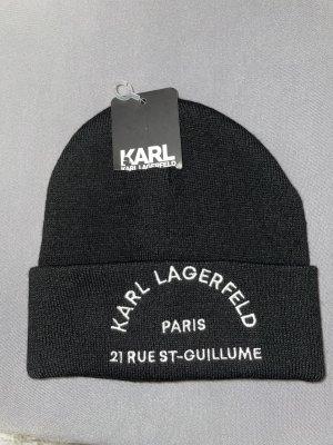 Karl Lagerfeld Berretto basco nero