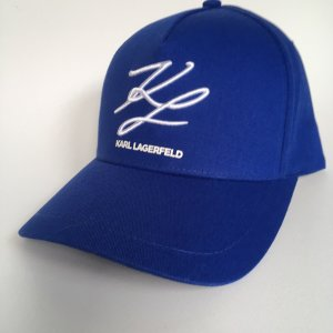 Karl Lagerfeld Baseball Cap blue-white