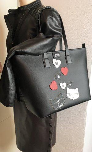 Karl Lagerfeld Borsa shopper multicolore Finta pelle