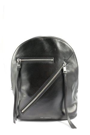Karl Lagerfeld Notebookrucksack schwarz Casual-Look