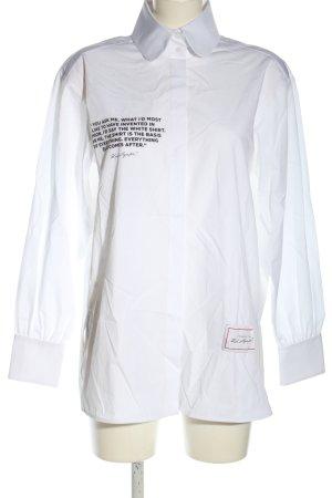 Karl Lagerfeld Oversized Bluse mehrfarbig Business-Look
