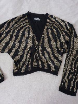 Karl Lagerfeld Giacca corta nero-oro
