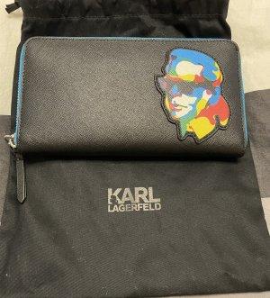Karl Lagerfeld Portmonetka niebieski