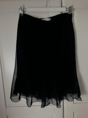 Karl Lagerfeld Plaid Skirt black