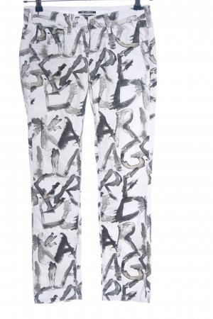 Karl Lagerfeld Pantalon cigarette imprimé allover style décontracté