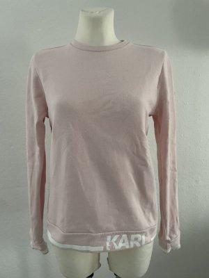 Karl Lagerfeld Maglione girocollo rosa-rosa chiaro