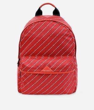 Karl Lagerfeld Sac à dos pour ordinateur portable rouge nylon