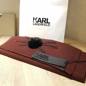 Karl Lagerfeld Knitted Scarf multicolored
