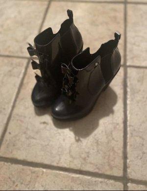 Karl Lagerfeld Slip-on Booties dark blue