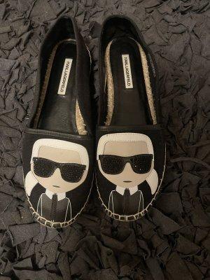 Karl Lagerfeld Mocasines negro