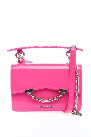 Karl Lagerfeld Schultertasche pink Casual-Look