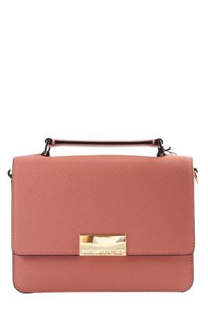 Karl Lagerfeld Bolsa de hombro rosa estilo «business»