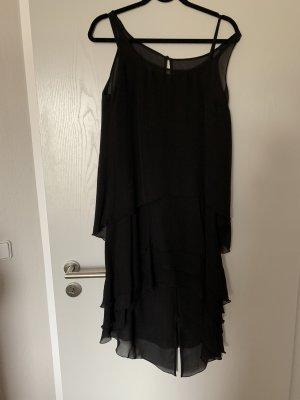Karl Lagerfeld for H&M Flounce Dress black silk