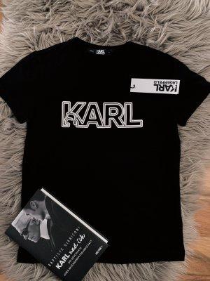 Karl Lagerfeld Shirt - Neu - schwarz - XS