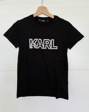 Karl Lagerfeld Shirt - Neu - XS - schwarz weiss