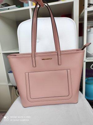 Karl Lagerfeld Borsa shopper rosa antico-rosa