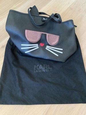 Karl Lagerfeld Shopper noir-or rose