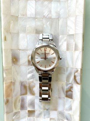 Karl Lagerfeld silberne Uhr