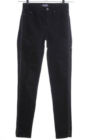 Karl Lagerfeld Skinny Jeans black casual look