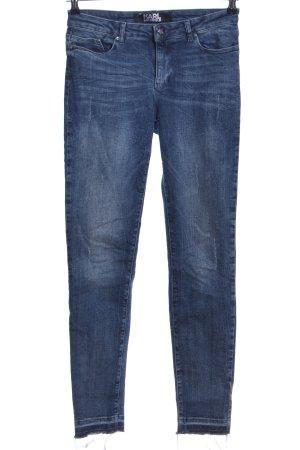 Karl Lagerfeld Skinny Jeans blau Casual-Look