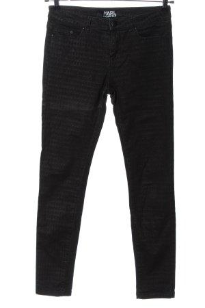 Karl Lagerfeld Slim Jeans black casual look