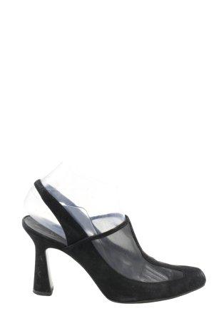 Karl Lagerfeld Slingback-Pumps schwarz Casual-Look