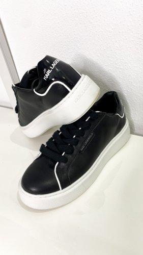 Karl Lagerfeld Sneaker stringata nero-bianco