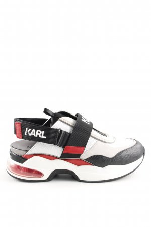 Karl Lagerfeld Zapatillas con velcro multicolor look casual