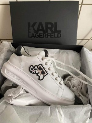 Karl Lagerfeld Sneaker alta bianco