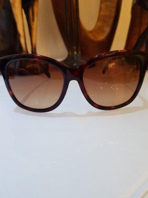 Karl Lagerfeld Hoekige zonnebril donkerbruin