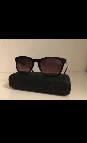 Karl Lagerfeld Kwadratowe okulary przeciwsłoneczne czarny-biały