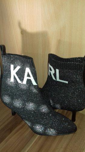 Karl Lagerfeld Stiefeletten/Sock Boots Gr. 37  neu NP 280 Euro !