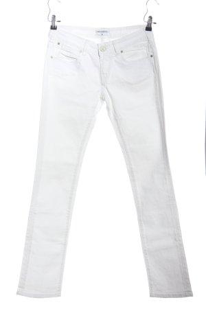 Karl Lagerfeld Straight-Leg Jeans weiß Casual-Look