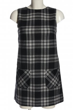 Karl Lagerfeld Knitted Dress black-white check pattern casual look