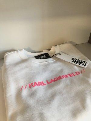 Karl Lagerfeld Camicetta a maniche lunghe bianco-color oro rosa