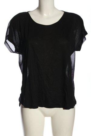 Karl Lagerfeld T-shirt nero-lilla stile casual